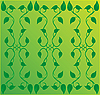 Vector clipart: background with creeping plant