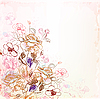 Vector clipart: floral design