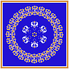 Vector clipart: decorative rosette