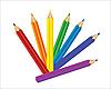 Vector clipart: set of pencils