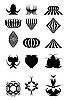 Векторный клипарт: элементы дизайна для логотипа