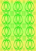 Vector clipart: green tracery