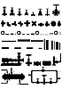 Vector clipart: Apparatus and equipment for oil refining