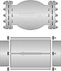 Vector clipart: Check valve