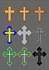 Векторный клипарт: Кресты
