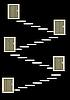 Vector clipart: Doors on steps
