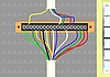 Vector clipart: Filter for electrical wires