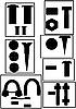 Vector clipart: Fixture version1
