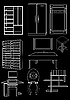 Vector clipart: Furniture, contour