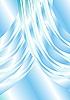 Vector clipart: Glass curtain