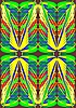 Векторный клипарт: Абстрактный крыла бабочки