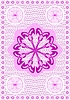 Vector clipart: Embroidery lace patern