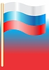 Vector clipart: National flag of Russia