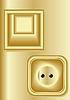 Vector clipart: Light switch, electrical outlet