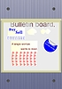 Vector clipart: Notice board
