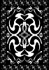 Vector clipart: Pattern from distortions
