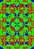 Vector clipart: Patterns of kaleidoscope