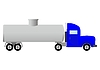 Vector clipart: Tank truck (illustration)