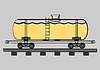 Vector clipart: Tank wagon