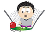 Vector clipart: Hammer thrower