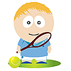Vector clipart: Tennis