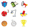 Vector clipart: Universal icons