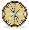 指南针 | 向量插图