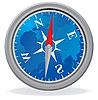 Vector clipart: Compass