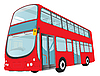 Vector clipart: London Bus