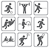 Vector clipart: Sports