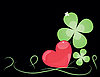 Vector clipart: St. Patrick`s Day card