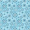 ID 3092081 | Бесшовный фон со снежинками | Векторный клипарт | CLIPARTO