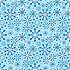 ID 3092081 | Seamleass雪花图案 | 向量插图 | CLIPARTO