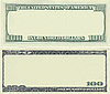 Clear 100 dollar banknote pattern | Stock Foto