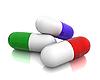 Three pills | Stock Illustration