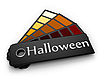 Photo 300 DPI: Color palette of Halloween