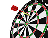 Dart missed the center | Stock Illustration