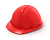 Photo 300 DPI: Red builder`s helmet