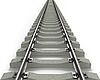 ID 3048190 | Long Rails Textured | High resolution stock illustration | CLIPARTO
