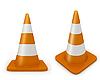 Photo 300 DPI: Road cones