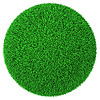 Ball made of green grass | Stock Illustration
