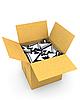 Box full of arrow cursors | Stock Illustration