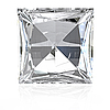 Photo 300 DPI: Princess cut diamond