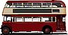 Vector clipart: London Double Decker red bus