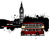 London i czerwony doubledecker | Stock Vector Graphics