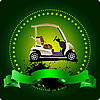 Vector clipart: Golf club emblem