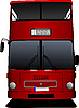 London double Decker red bus | Stock Vector Graphics
