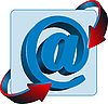 Vector clipart: E-mail icon
