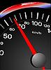Vector clipart: Speedometer