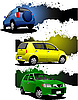 Cars | Stock Illustration